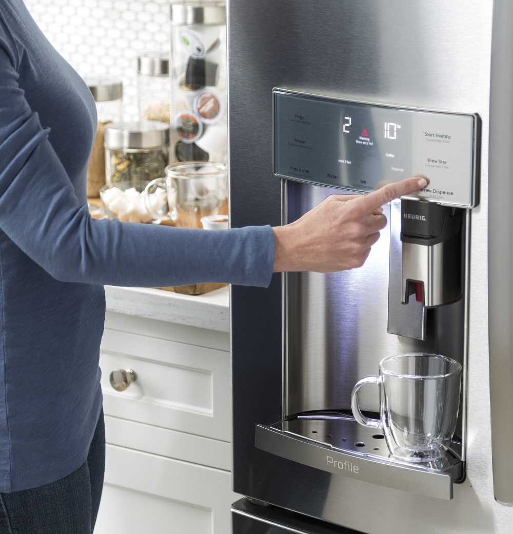 The Keurig Kcup French Door Refrigerator