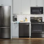 Newest GE Black Stainless Steel Appliances