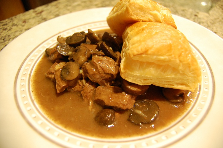 Steak Pie Photo