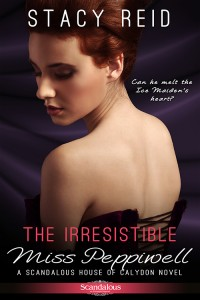 The book cover of The Irresistible Miss Peppiwell.
