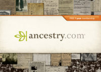 At each workshop, we will give away a door prize - a Free annual Ancestry.com World Explorer membership.  You must pre-register for the workshop and attend in-person to be entered into the door prize drawing.