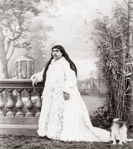 A story of Princess Qajar with Mustache: Men killed themselves for her!! 1