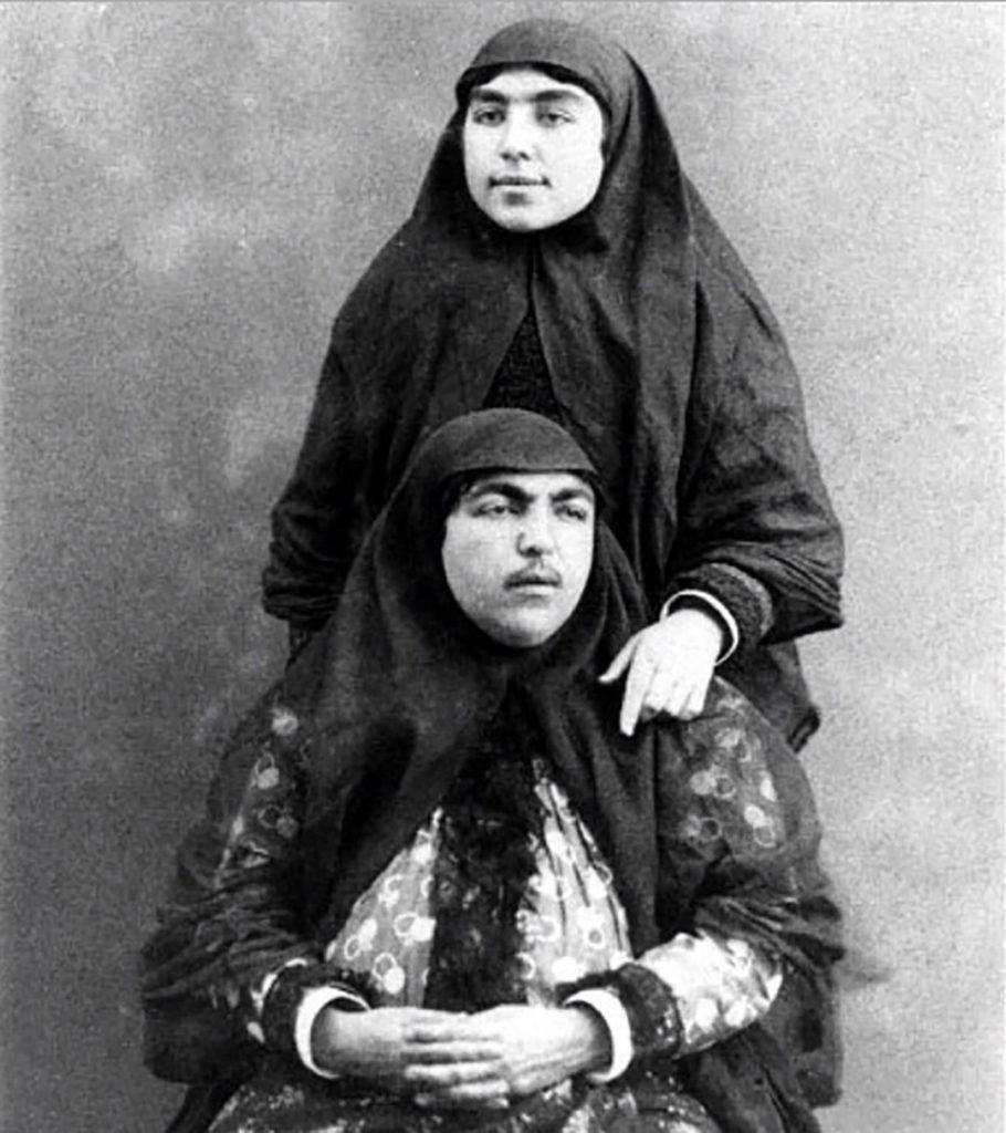 A story of Princess Qajar with Mustache: Men killed themselves for her!! 7