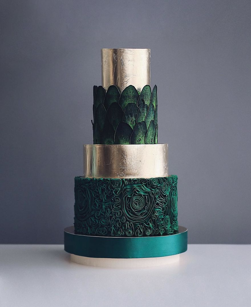 Luxurious Towering Cakes Look Like They Are Straight Out Of The Fairy Tale 13