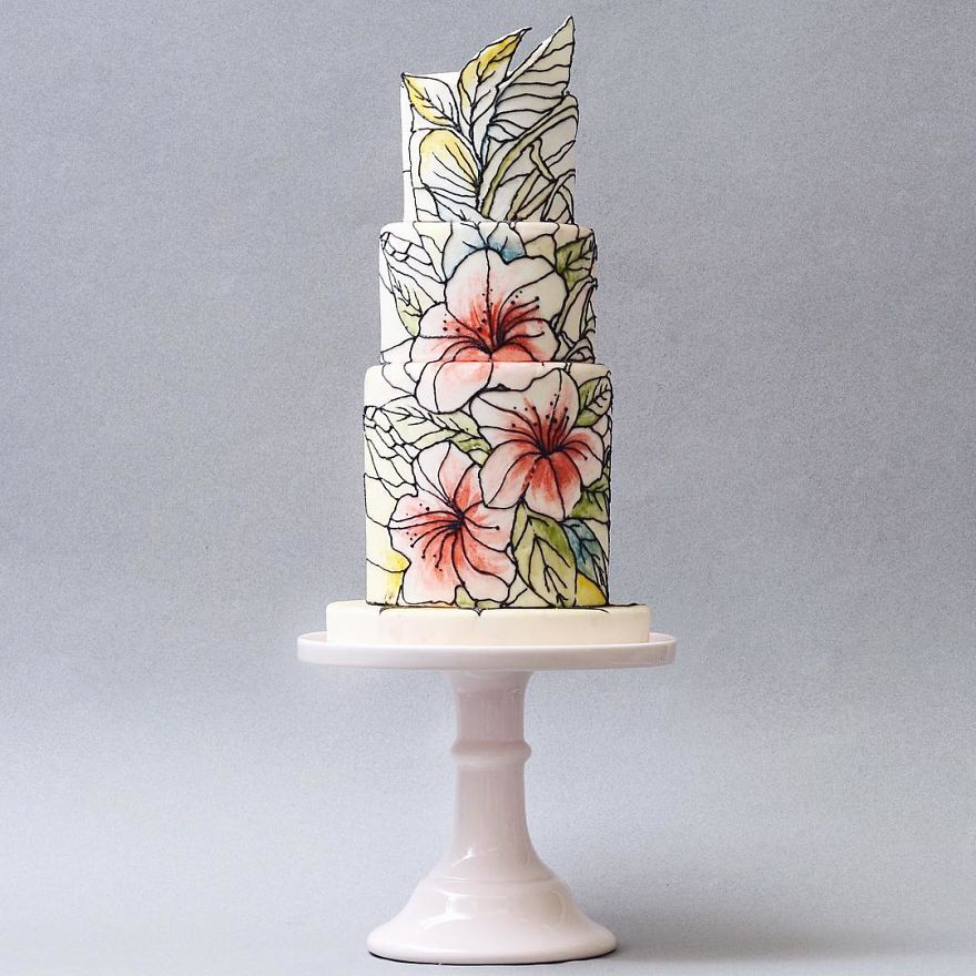 Luxurious Towering Cakes Look Like They Are Straight Out Of The Fairy Tale 26