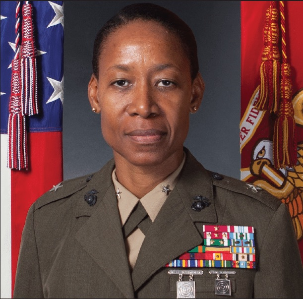 President Trump nominates Marine to be first-ever black female general. Let's congratulate her! 1