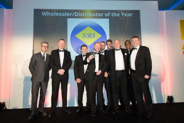 SBS win wholesaler distributor of the year HVR Awards 2019