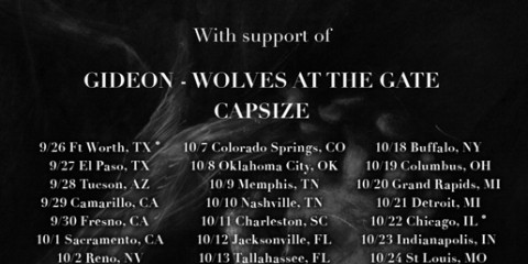Gideon Set To Embark On Tour With Being As An Ocean/Fit For A King