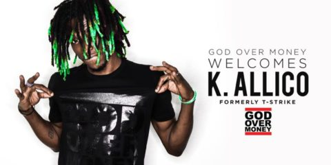 God Over Money Add K. Allico To Roster; Release Introduction Freestyle