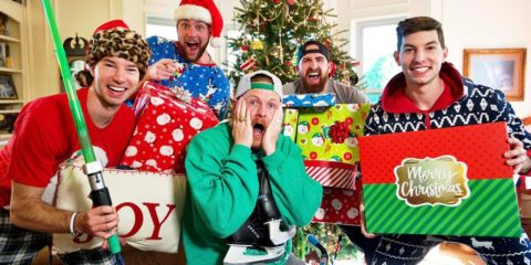 Dude Perfect release hilarious Christmas Stereotypes video