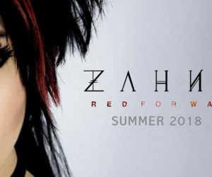 Rockfest Records Release Preview of Zahna's Red For War Album