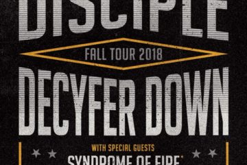 Disciple and Decyfer Down Annouce Fall 2018 Tour