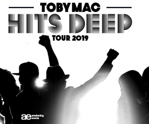 "TobyMac's Popular ""HITS DEEP Tour"" To Hit 34 Arenas With 2019 Return"