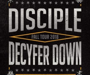 Disciple and Decyfer Down Hit The Road for Select Tour Dates in October