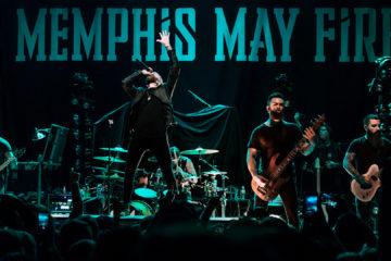 Concert Photos: Memphis May Fire - Greensboro, NC 11/20 - Garett Walker