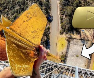How Ridiculous - Giant Dart vs. Gold Play Button