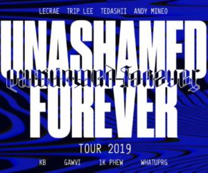 Unashamed Forever Tour Announcement