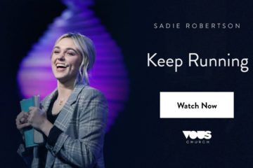Watch Sadie Robertson's Keep Running Preach at Vous Church