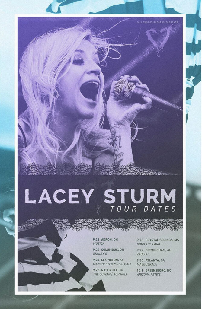 Trevor Talks to Join Lacey Sturm on Live Screams Tour
