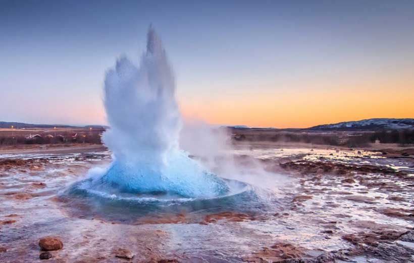 Geothermal Energy in nature