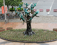 """Harmony of the People"" Bronze public sculpture installed in Shanghai, China"