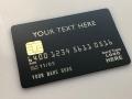 custom metal debit card matte black card