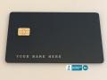 Laser Engraved Custom Metal Debit Cards