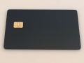 metal credit card with emv chip