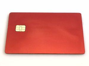 Red Metal Credit Card