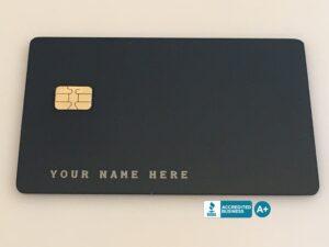 Custom Metal Credit Card Options Design Your Own Luxury