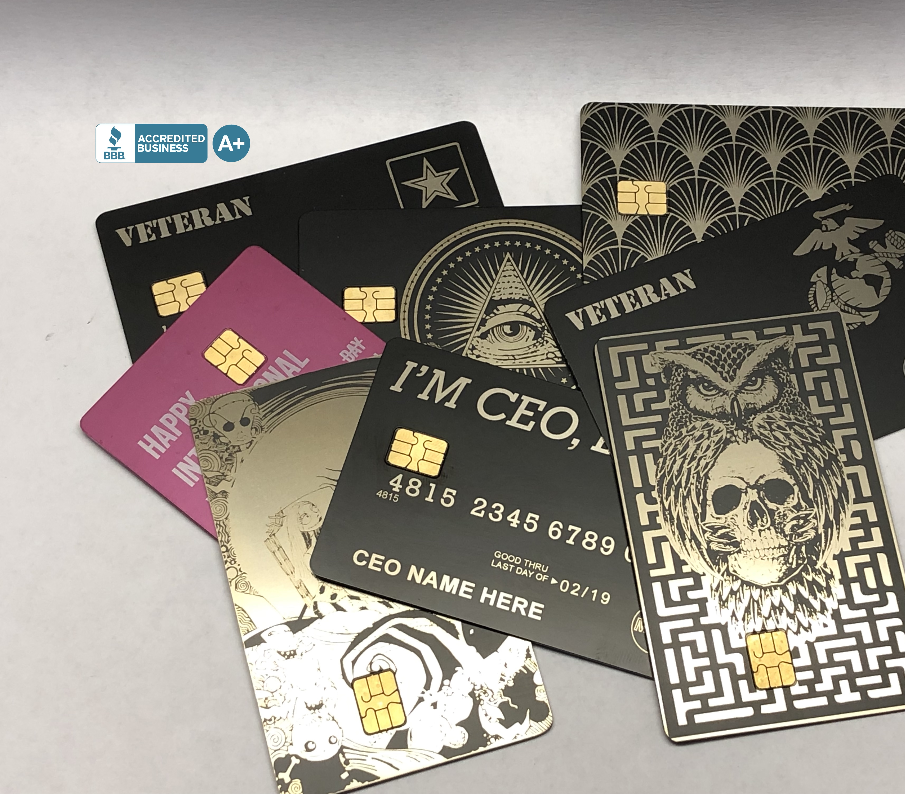 Custom Metal Credit Cards | Turn Your Plastic Into Metal