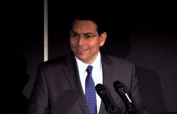 Israel's UN Ambassador Danny Danon at Columbia University