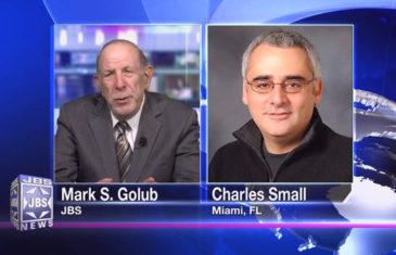 Charles Small,JBSTV,jbstv.org,JBS,Jewish television