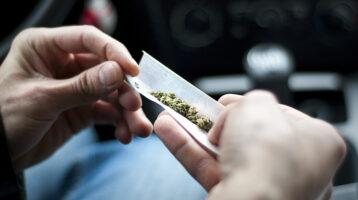 car marijuana