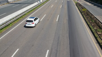 left lane driver