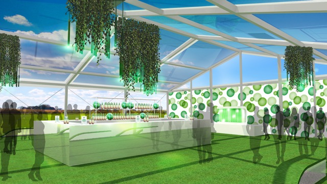 Perrier Greenhouse - Interior 2