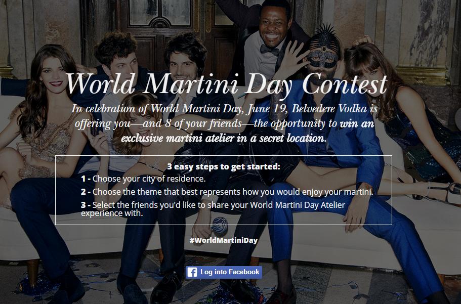 world martini day contest