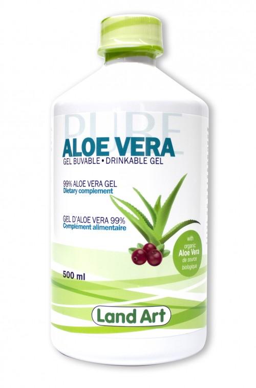 Land Art Aloe Bottle