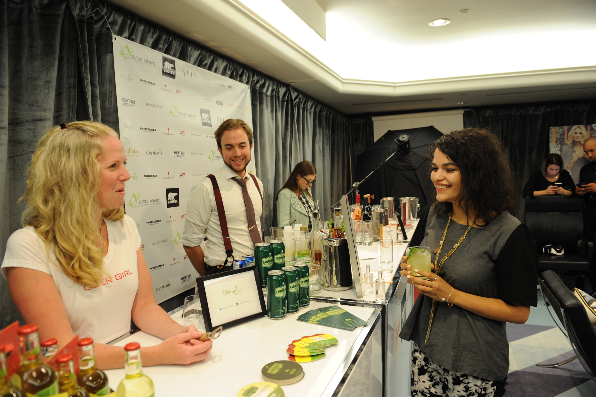 Tastemakers Lounge Image Feed 2015 oowered by Central Image Agency