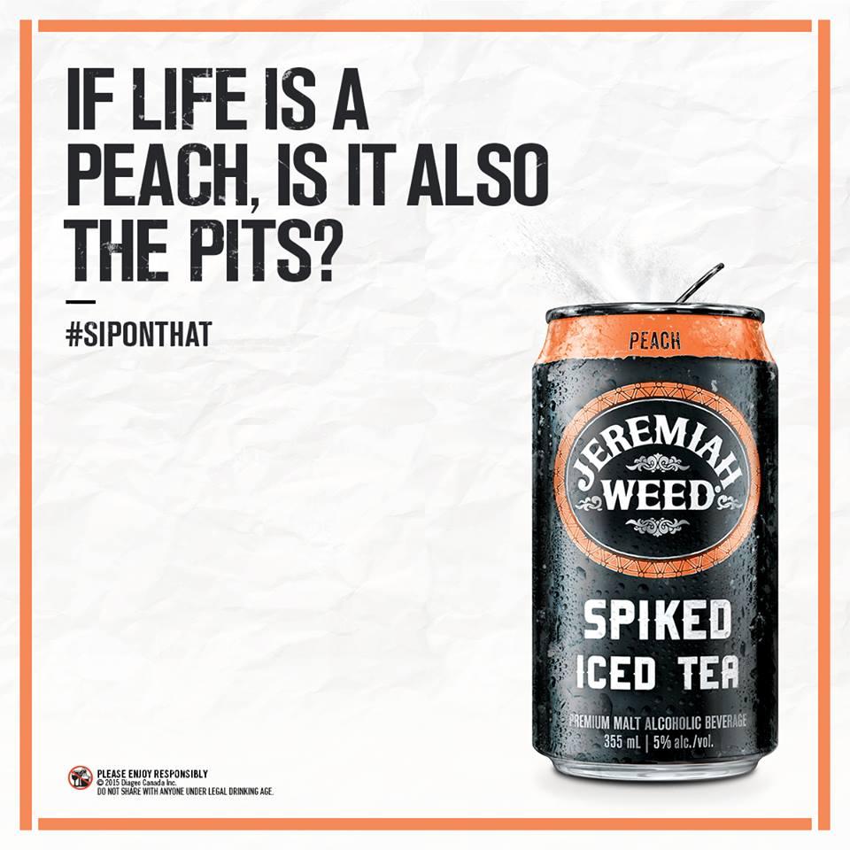 #SipOnThat Peach