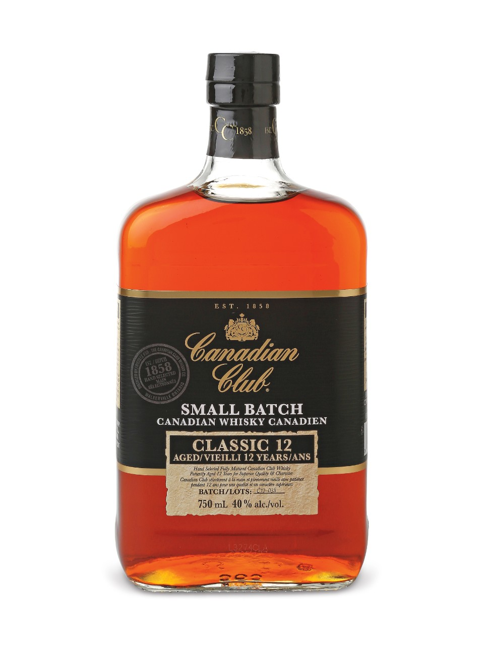 Canadian Club Small Batch