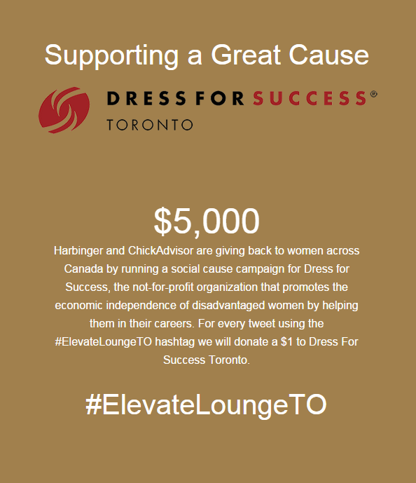 #ElevateLoungeTO DoTheDaniel.com Dress For Success Toronto