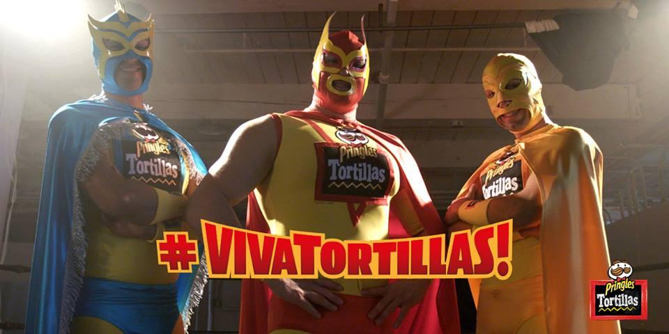#VivaTortilla Facebook Banner Luchadores