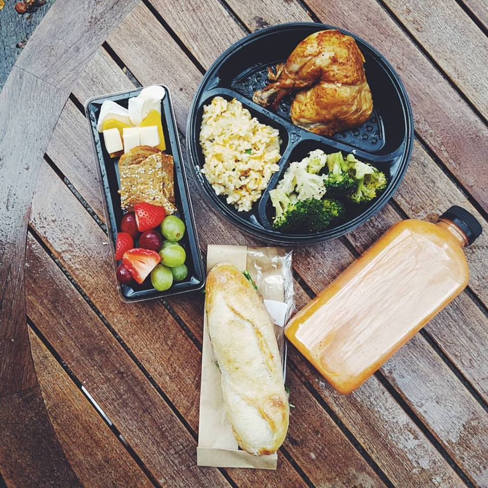 #Explore44 DoTheDaniel.com 44 Charles Bloorstreet Market Lunch Items