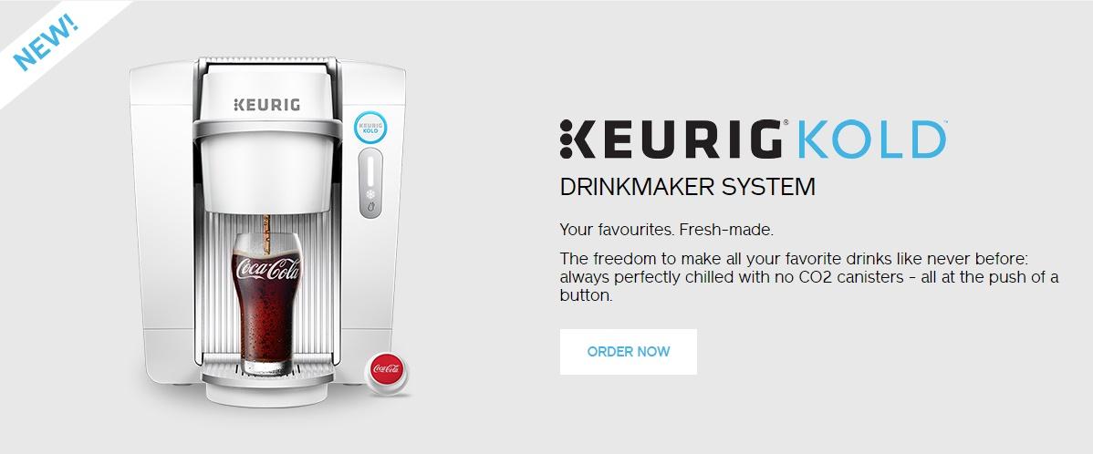 Keurig Canada #KeurigKOLD DoTheDaniel.com Order Now