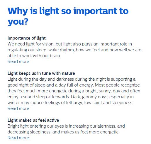 #PhilipsWakeUp DoTheDaniel.com importance of light