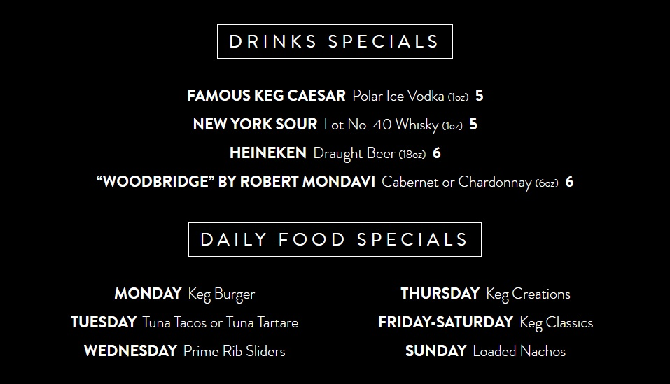 #TheKeg Cocktail Hour DoTheDaniel