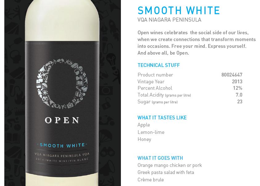 DoTheDaniel.com #OPENpicnic #OPENwines Smooth White