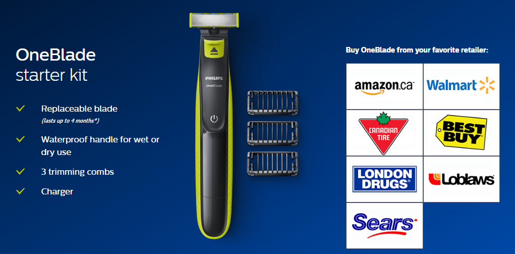#OneBlade Philips DoTheDaniel.com Starter Kit