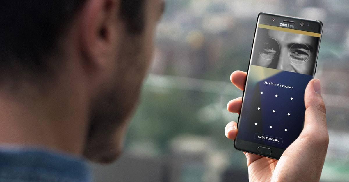 DoTheDaniel.com #GalaxyNote7 Samsung Canada Iris Scanner